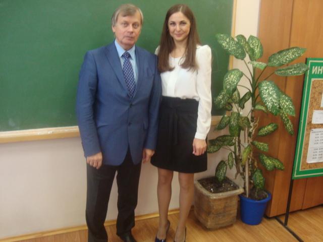 С председателем В.Ф.Чертовым