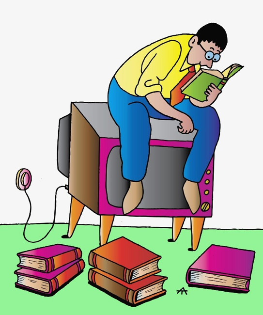 reading is better than watching tv essay